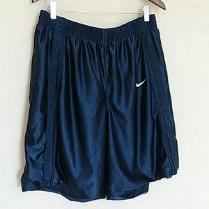 NIKE Navy Athletic Shorts XL